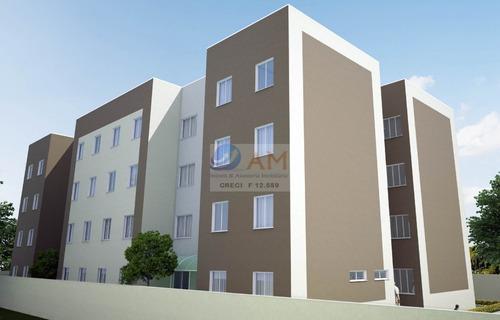 Apartamento A Venda No Bairro Jardim Palmital Em Colombo - - 332-1