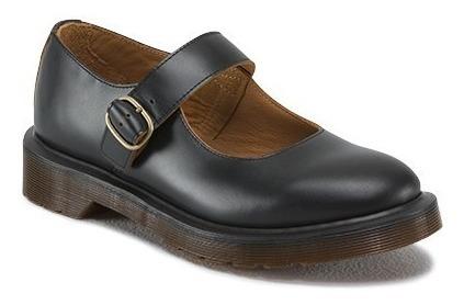 Dr Martens Zapatos Negros Dama 4mx Indica Mary Jane Botas
