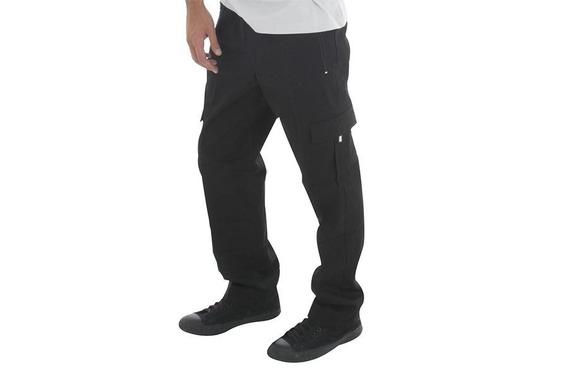 Pantalon Nautico Cargo - Gabardina 100% Algodón - Talle Especial 12 Al 16 (adultos) - 5 Bolsillos - Elastico Y Cordón