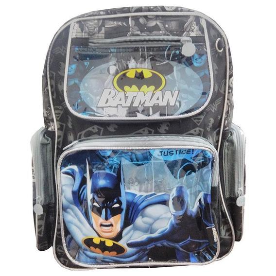 Mochila Escolar Batman Bm7853 - Dc