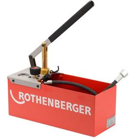 Bomba De Teste Hidrostático 25 Bar Rothenberger Tp25 V150000