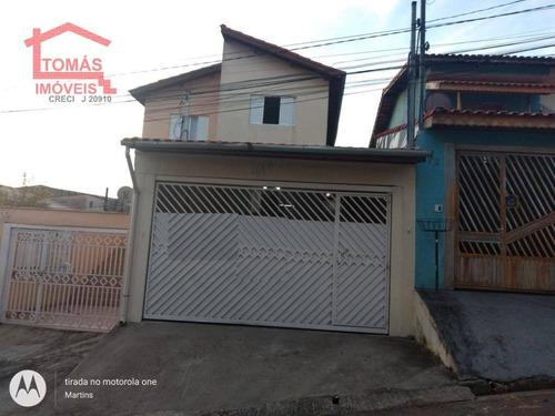 Sobrado Com 3 Dormitórios À Venda, 140 M² Por R$ 450.000 - Jaraguá - São Paulo/sp - So1823