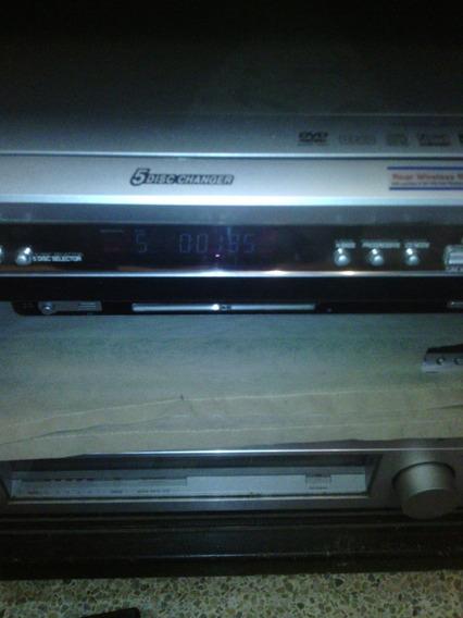 Home Theather Panasonic 5 En 1 Con Control , Perfecto Estado