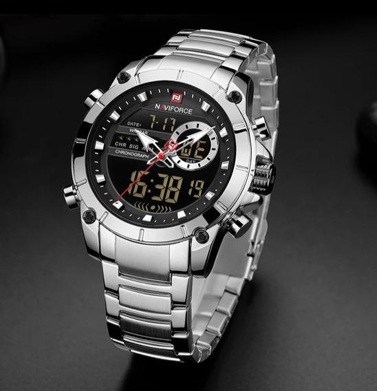 Super Oferta: Relógio Masculino Resistente A Choques!
