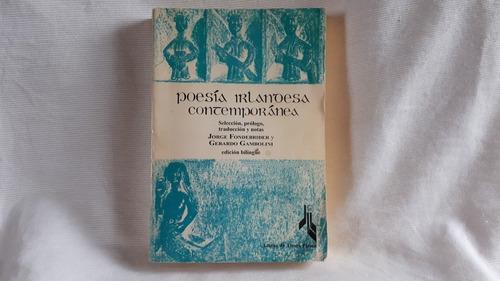 Imagen 1 de 10 de Poesia Irlandesa Contemporanea Bilingue Ingles Español
