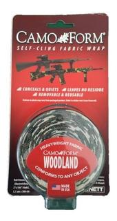 Cinta Camuflada - Camo Form - Woodland - Bosque - Militar