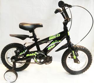 Bicicleta Infantil Niño - Mao Bmx Rodado 12(envio Gratis)