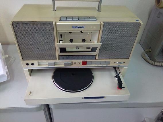 National Sg-j500s Toca-discos/toca- Fitas/rádio Raridade
