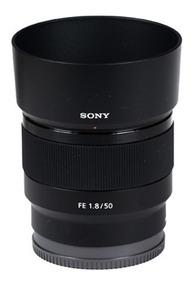 Lente Sony Sel Fe 50mm F/1.8 Sel50f18 A7 A7s A7r Fullframe