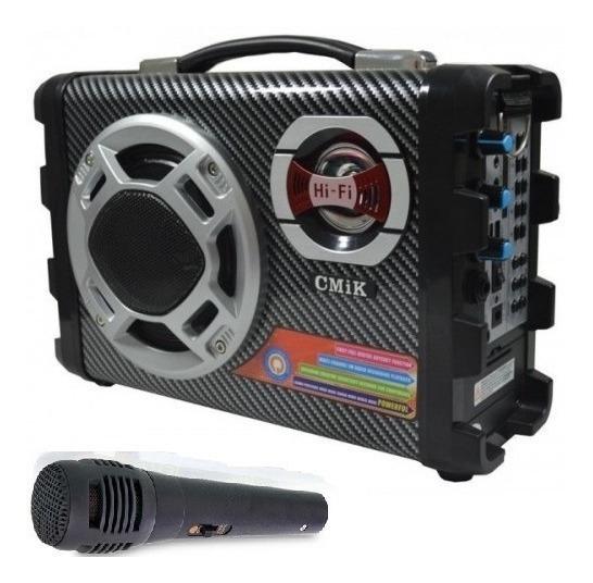 Caixa De Som Micro System Amplificada Usb Bluetooth - Mk-b29