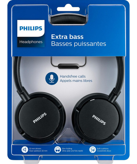 Fone De Ouvido Philips Shl5005/00 Preto