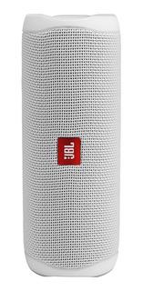 Parlante JBL Flip 5 portátil inalámbrico White