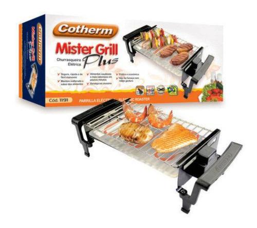 Imagem 1 de 3 de Churrasqueira Elétrica Mister Grill Plus Cotherm 220 Volts