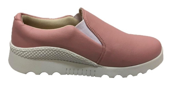 Tenis Slip On Feminino Casual Sapatenis Via Sul