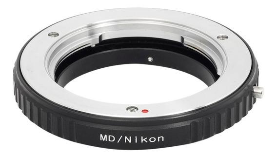 Anel Adaptador Minolta Nikon Mc / Md - Macro - Pixco