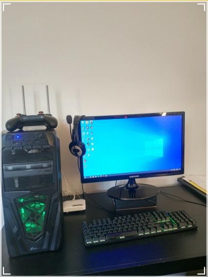 Computador De Mesa Gamer- Gtx 1050ti 4 Gram- I3 4150 3.5 G