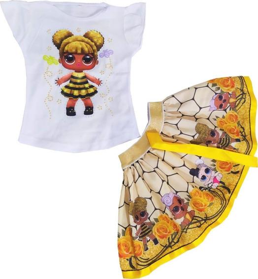 Vestido Para Niña Lol De Dos Piezas