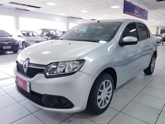 Renault Logan 1.0 2015 - Completo - Flex