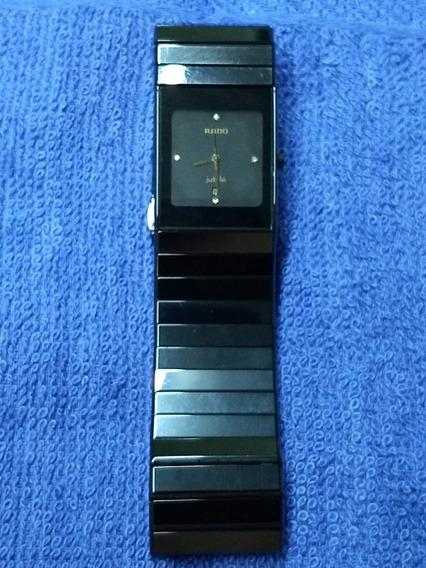 Reloj Hombre Rado Ceramica Con Diamantes