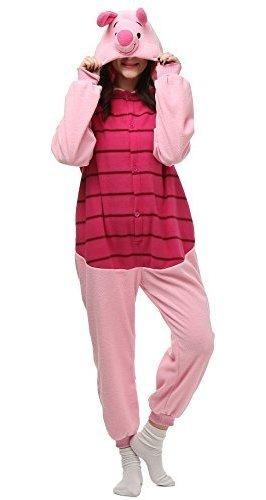 Vu Roul Adulto Kigurumi Onesie S Pijama De Traje De Felpa Su