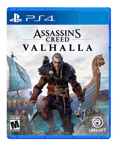 Imagen 1 de 10 de Assassins Creed: Valhalla Ps4 Fisico Nuevo Sellado Starko