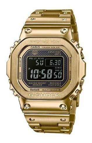 Casio Gold Metal G-shock Gmw-b5000gd Gmwb5000 Msi Emx