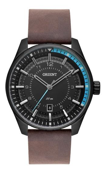 Relógio Orient Masculino Mpsc1004 Panx Preto Couro Marrom