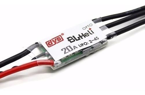 Esc Dys 20amp Micro Opto Blheli Multi-rotor Electronic