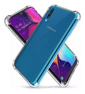Funda Tpu Reforzada + Templado 5d Samsung A10 A30 A50 A70