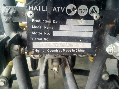 Imagen 1 de 4 de Honda Haili Atv