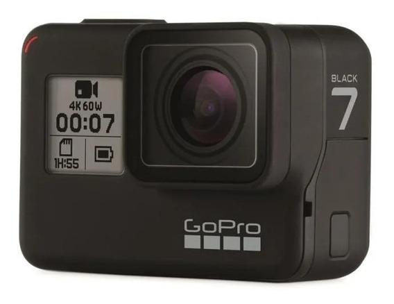 Câmera E Filmadora Gopro Hero7 Black 4k - Chdhx-701-rw