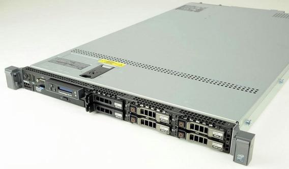 Servidor Dell Poweredge R610 2 Xeon Sixcore Sas 2x300 128gb