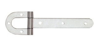 Dobradiça De Porteira Tipo Ferradura Zincada N 03
