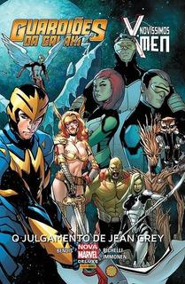 Hq Marvel X-men Novíssimos: O Julgamento De Jean Grey