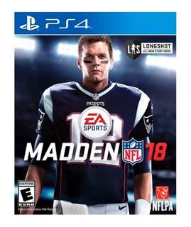 Juego Madden Nfl 18 Playstation 4