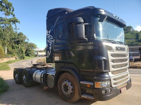 Scania R440 A 6x4 Automática 2013 Muito Nova = Volvo, Mb