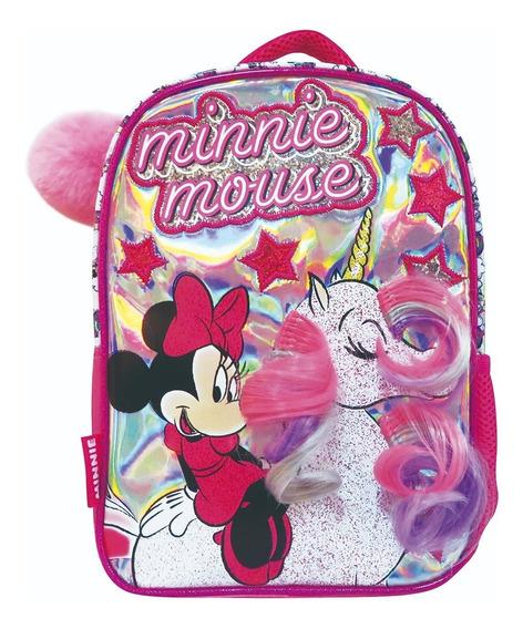 Mochila Minnie Disney Unicornio Jardin 12 Km212 Mapleweb