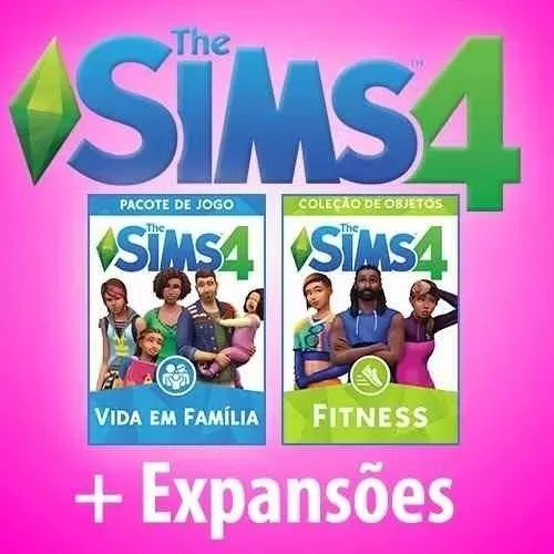 The Sims 4+ Expansões Envio Digital Por Emeil !!