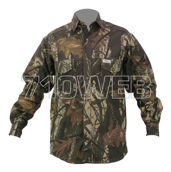 Camisa Camuflada 3d Ideal Para Caza - Outdoor