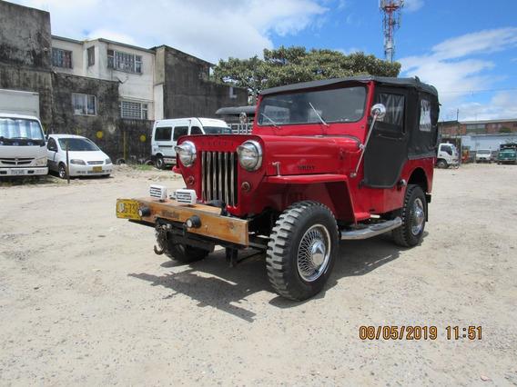 Jeep Willys Modelo 1963