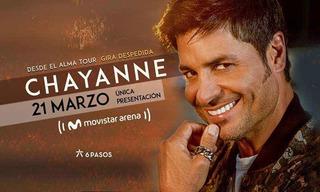Dos Entradas Platino - Recital De Chayanne En Movistar Arena