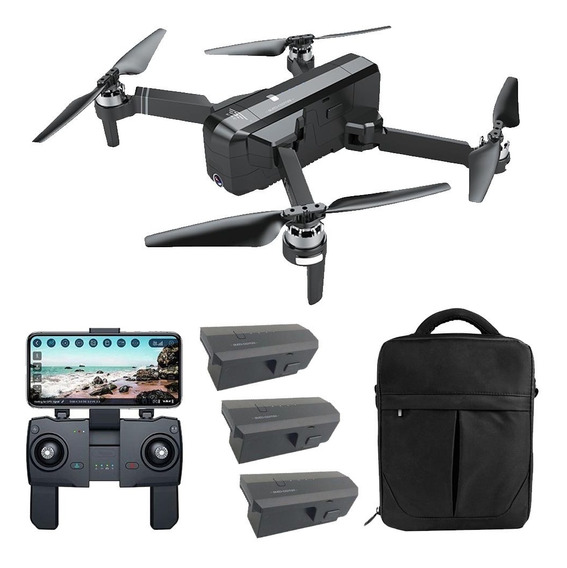 Drone Sjrc F11 Pro 5g - Câmera Wifi Full Hd 2.7k, Alc. 1,2km