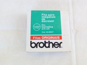 Fitas Corretivas Brother Para Maquina De Escrever 4 Uni.