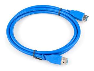 Cable Extensor Usb 3.0 Macho Hembra 1,5m Gtia Alargue
