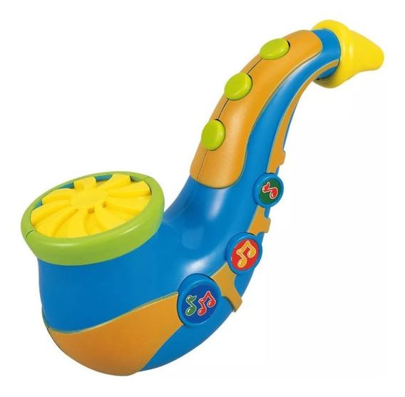Mini Saxofon Juguete Musical Bebe Niños Sonido Infantil
