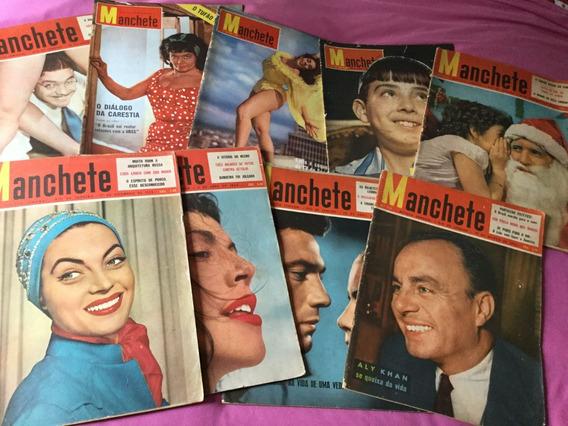 Revistas Manchete Anos 50/60/70