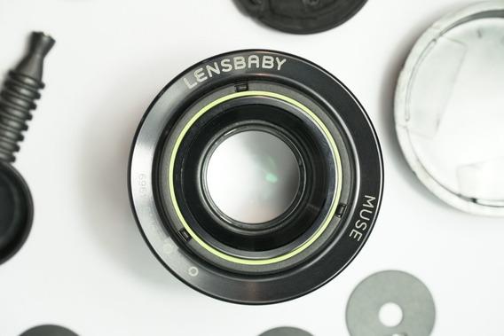 Lente Lensbaby Lens Baby 50mm F1.8 Tilt-shift P/ Canon