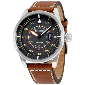 Citizen Aw1361-10h Eco-drive Men Avion Cinza Dial