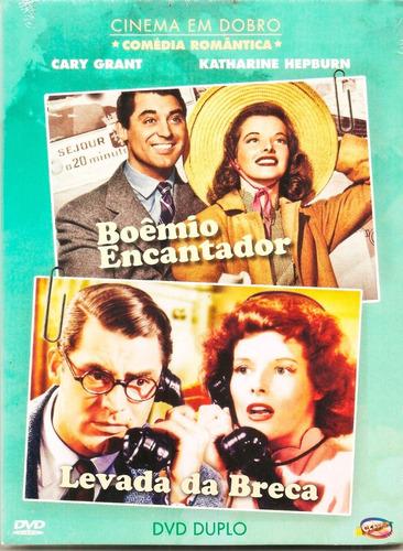 Dvd Boêmio Encantador + Levada Da Breca Kath Hepburn Duplo +