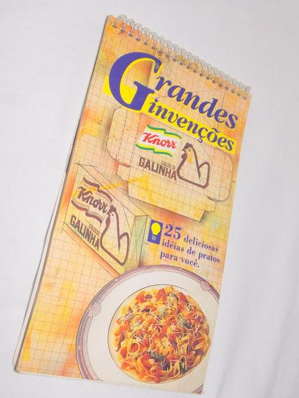 Livro De Receitas Grandes Invenções Knorr